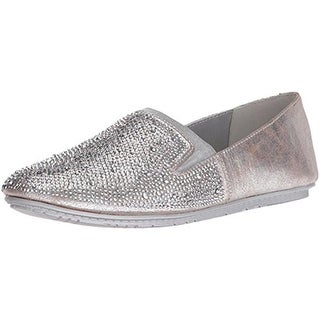 Kenneth Cole Reaction Womens Bare Ur Soul 2 Flats Rhinestones Slip On