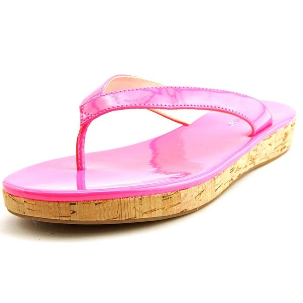 Nine West So Savvy Women Open Toe Synthetic Pink Thong Sandal