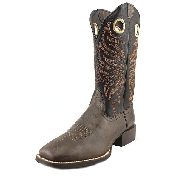 Ariat Sport Rider Wide Square Toe Square Toe Leather Western Boot