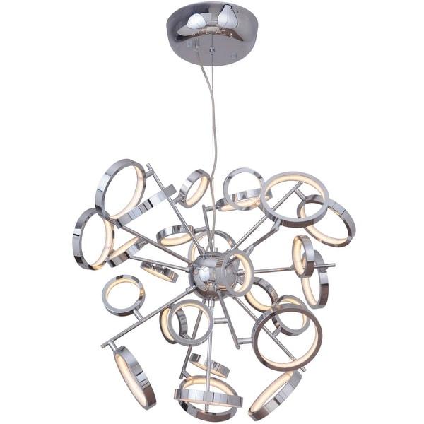 Shop Craftmade 47126 Led Mira 1 Light 28 Wide Integrated Led