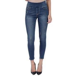 Lola Jeans Rachel-SN, High-rise Pull On ankle