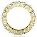 4.80 cttw. 14K Yellow Gold Round Diamond Eternity Ring - Thumbnail 1