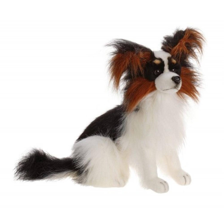 Set Of Dog Stuffed Animals, Shop Set Of 2 Handcrafted Plush Black Pappillon Dog Stuffed Animals 16 5 Overstock 27342732