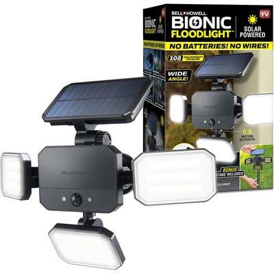 Bell and Howell Bionic Floodlight with Remote