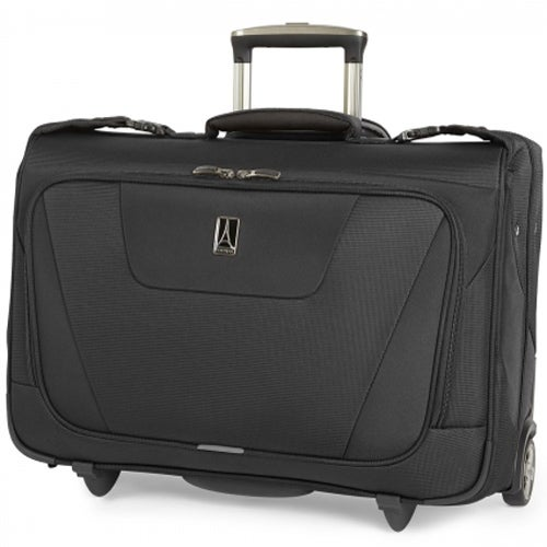 Travelpro Maxlite 4 - Black Polyester Fabric Rolling Carry-On Garment Bag w/ Water Resistant Coating