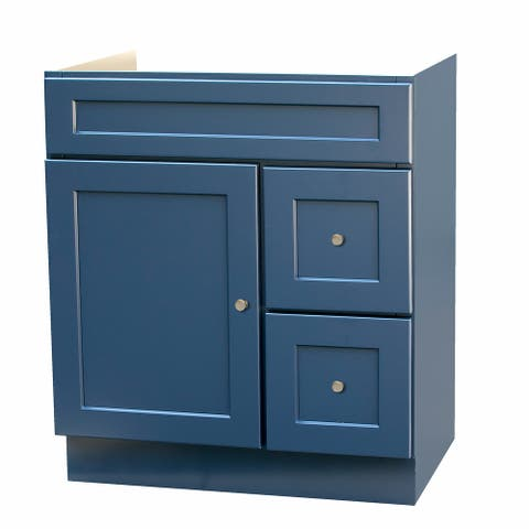 30x21 Blue Shaker Vanity