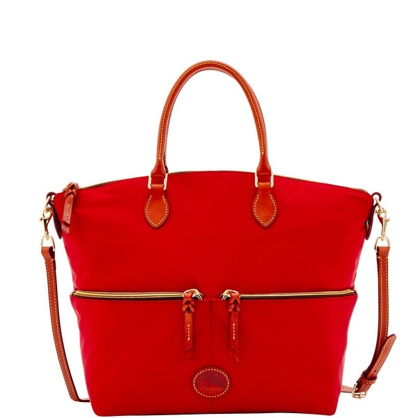Dooney & Bourke Nylon Large Pocket Satchel (Introduced by Dooney & Bourke at $198 in Feb 2017)