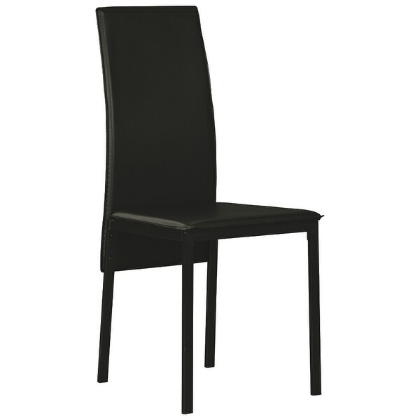 Ashley Furniture Faux Leather Upholstery Dining Room Side Chair (2 Pack)