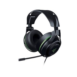 Refurbished - Razer RZ04-01920300 ManO'War 7.1 Surround Sound Gaming Headset Built Microphone