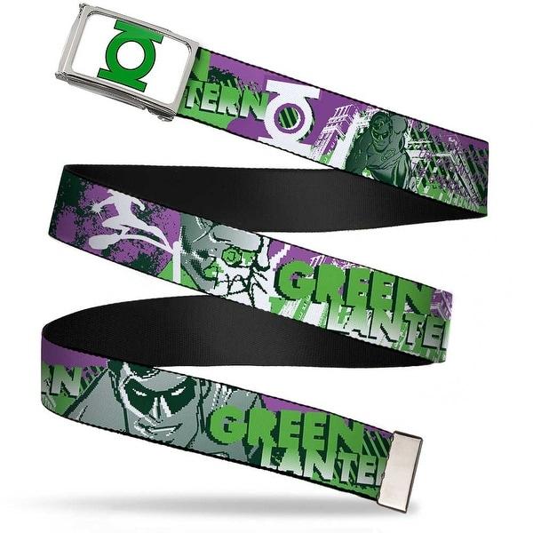 Green Lantern Logo Close Up Fcg White Green Chrome Green Lantern Web Belt