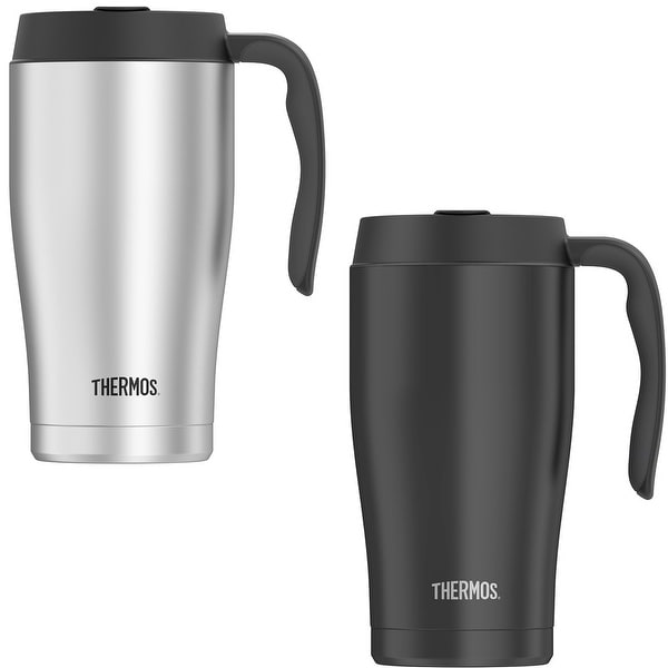 Thermos 22 oz. Vacuum Insulated Stainless Steel Mug with Handle - 22 oz.