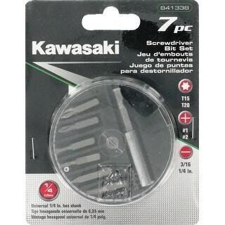 Kawasaki® 7 pc Screwdriver Bit Set - 841338