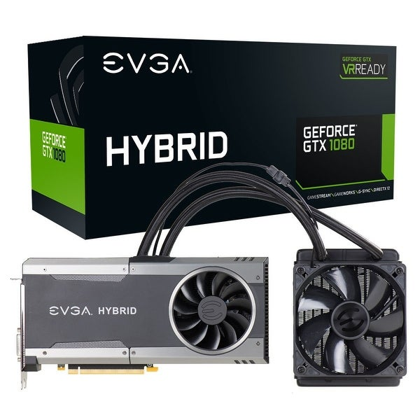 Evga 08G P4 6288 Kr Graphics Card Gtx 1080 Ftw Hybrid Gaming 8Gb