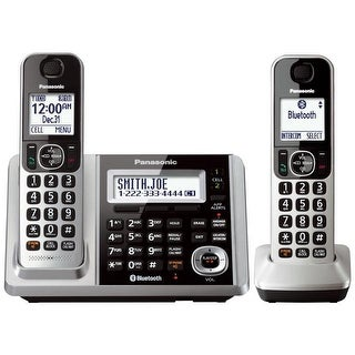 Panasonic KX-TGF372S DECT 6.0 2-handset Landline Telephone (Refurbished)