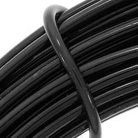 Aluminum Craft Wire Black 12 Gauge 39 Feet (11.8 Meters)