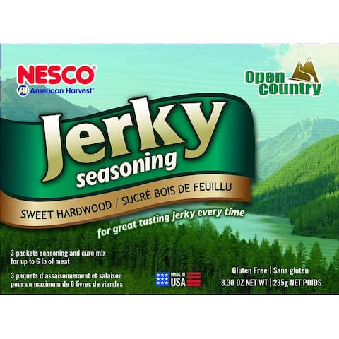 Nesco BJS-6 Jerky Spice Works, Sweet Hardwood, Includes 3 Seasoning and 3 Cure Packets