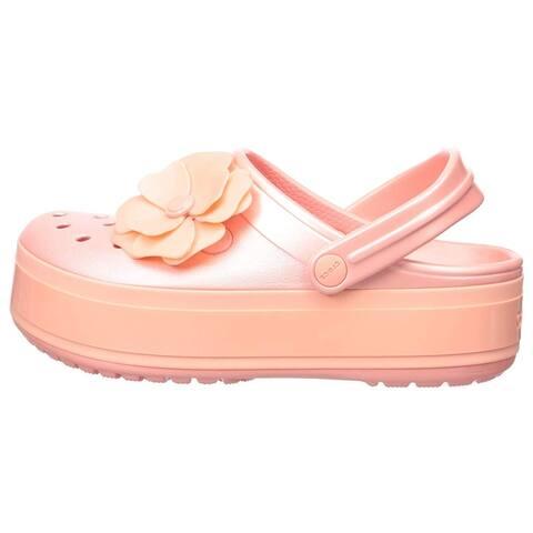Crocs Women's Crocband Platform Vivid Blooms Clog - 4