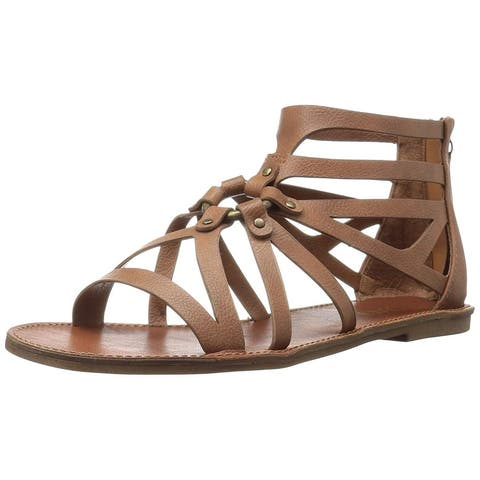 Xoxo Womens Cristobal Open Toe Casual Gladiator Sandals