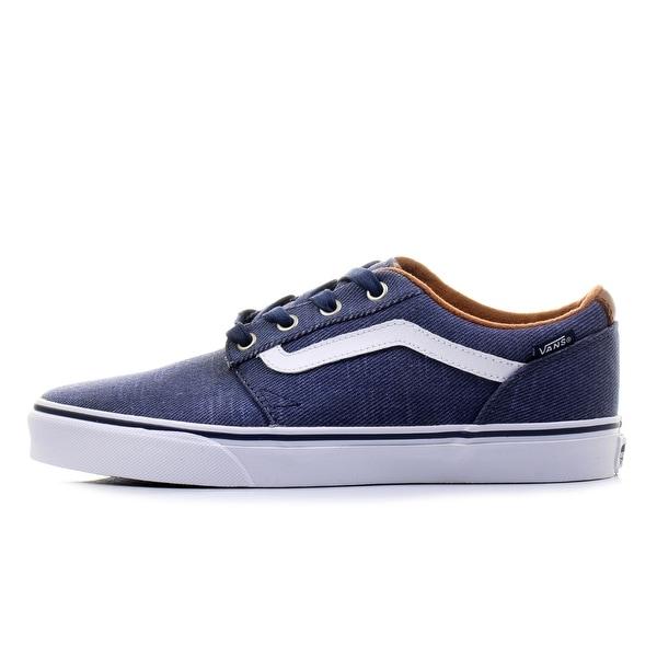 c77f107867 Shop Vans Mens Chapman Canvas Low Top Lace Up Fashion Sneakers - 8 ...