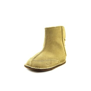 Ugg Australia I Boo Infant  Round Toe Suede Nude Winter Boot