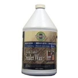 Trewax 887171967 Gold Label Sealer Wax, 1 Gallon
