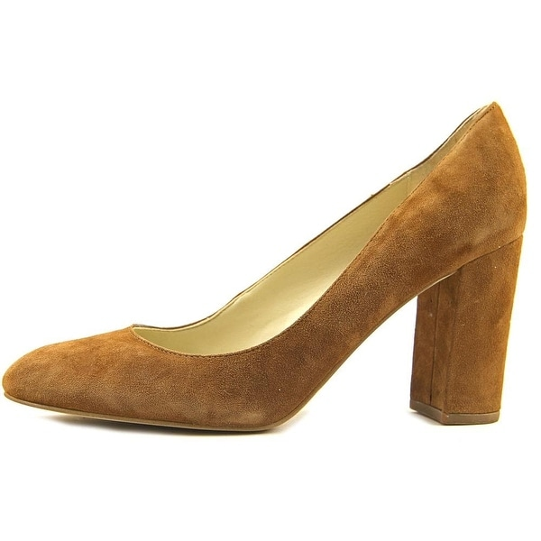 Marc Fisher Womens Isabelle Suede Round Toe Classic Pumps