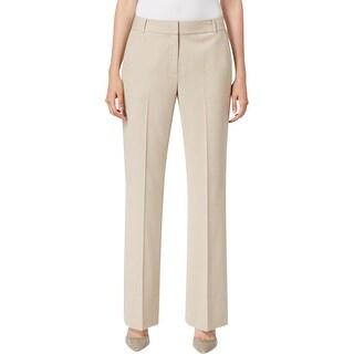 Calvin Klein Womens Dress Pants Wide Leg Office