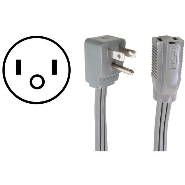 Certified Appliance 15-0309 Appliance Extension Cord, 15 Amps (9Ft)