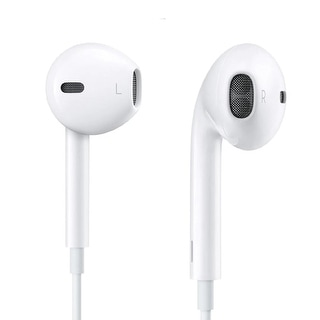 Link to Apple Earphone 3.5 mm Universal Headphones with Remote and Mic White Refurbished Similar Items in Headphones