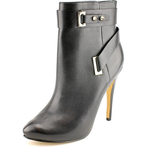Guess Shanda Pointed Toe Leather Ankle Boot