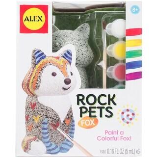 Rock Pets Paint Kit-Fox