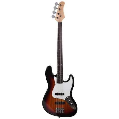 """45.7"""" Gjazz Electric Bass Right Handed 4 Strings SS Pickup Cable"""