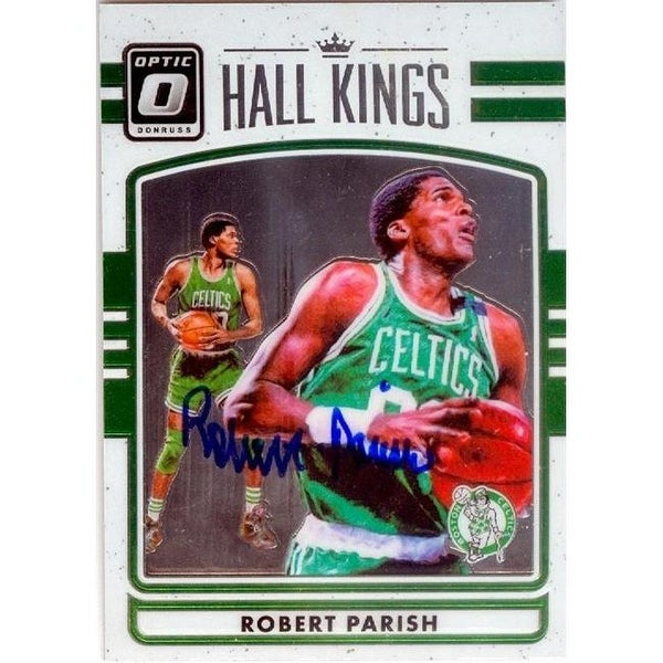 bcd173d35 Shop Robert Parish Autographed Basketball Card Boston Celtics 2016 - Free  Shipping On Orders Over  45 - Overstock.com - 26190525