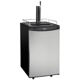 Danby DKC054A1 21 Inch Wide 5.4 Cu. Ft. Full Size Free Standing Kegerator with S