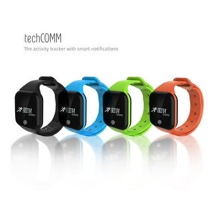TechComm X5S Water-Resistant Fitness Bracelet Heart Rate Sleep Monitor