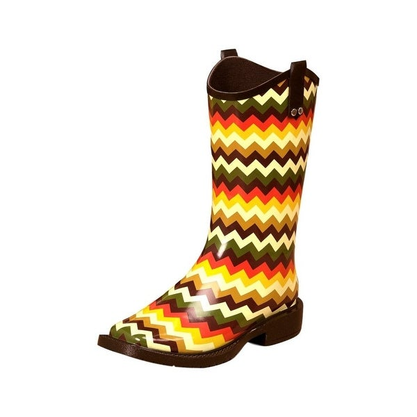 Blazin Roxx Outdoor Boots Women Clara Square Waterproof Multi - Multi-color
