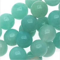 Pale Aqua Blue Amazonite 6mm Round Beads/15.5 In. Strand