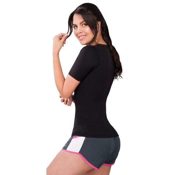 Sleeves Full Body Shapewear Sauna Suit Neoprene Weight Loss GYM Sport Fajas Cami