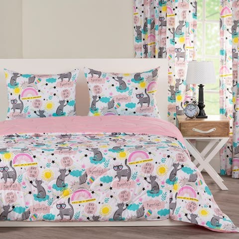 Crayola Star Gazer Comforter and Shams Set