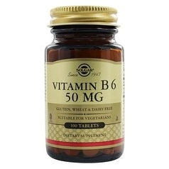Solgar Vitamin B6 50 mg (100 Tablets)