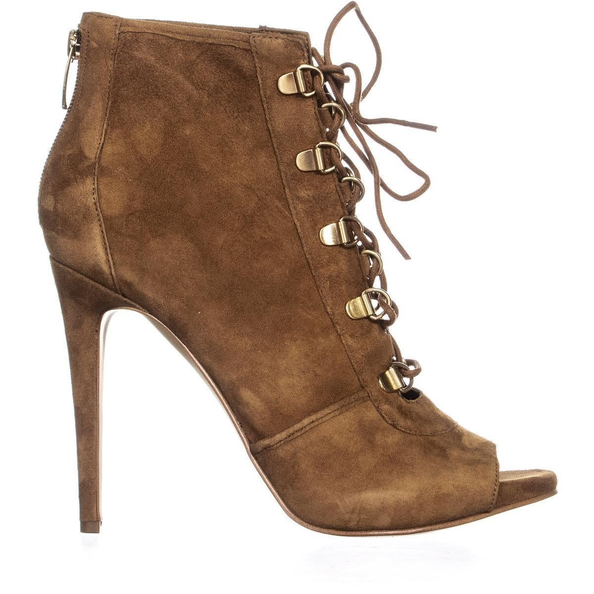 Ankle Boots, Medium Brown - Overstock