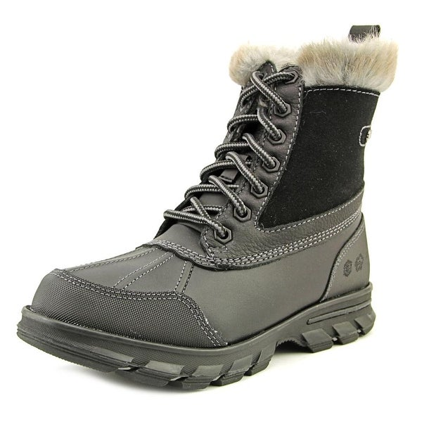 Skechers Trail Mix Heats Round Toe Synthetic Winter Boot