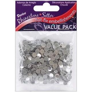Rhinestone Setter Hot-Fix Glass Stones 5mm 400/Pkg-Crystal