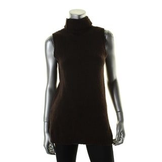 Lauren Ralph Lauren Womens Alanyo Tunic Top Wool Turtleneck