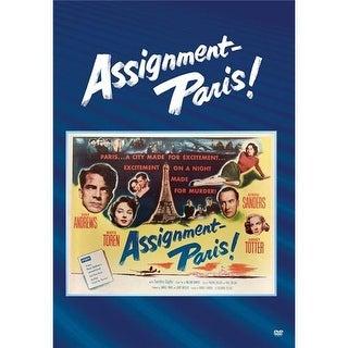 Assignment Paris DVD Movie