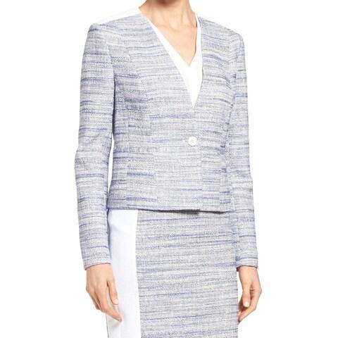 Classiques Entier Womens Tweed One Shoulder Jacket