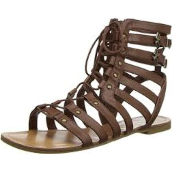 da8cbfa51f95b0 Shop G by Guess Womens Holmes Open Toe Casual Gladiator Sandals ...