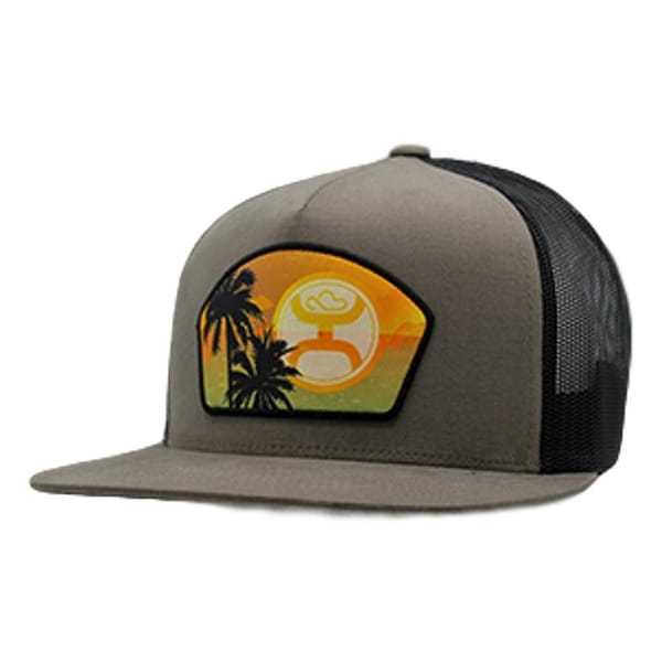 0db85330 Shop HOOey Hat Mens Trucker Pacific Snapback Mesh One Size Tan Black - Free  Shipping On Orders Over $45 - Overstock - 20560803