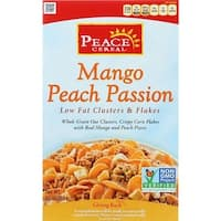 Peace Cereals - Low Fat Mango Peach Passion Cereal ( 6 - 10 OZ)