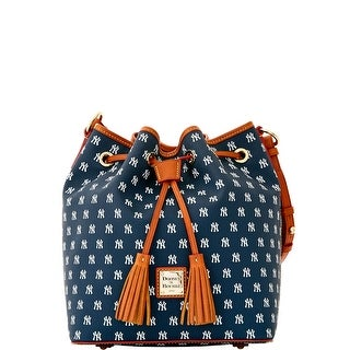 Dooney & Bourke MLB Yankees Drawstring (Introduced by Dooney & Bourke at $248 in Oct 2015) - Navy